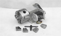 Wholesale CNC Router Rotational Axis the th Axis A axis for the engraving machine K12 mm jaw Scroll Chuck