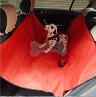 Wholesale Pet car mats car seat cover for pets with safety belt keep your car clean tidy x147cm waterproof oxford fabric C755