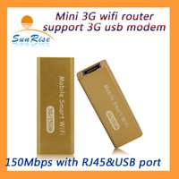 adsl port - Useful for the Mini G wifi USB router with RJ45 port Mbps ADSL DHCP automatic recognition mobile G hotspot