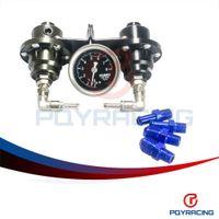 Wholesale PQY STORE TM TYPE S Fuel Pressure Regulator Fuel Regulator With Fuel Press Oil Gauge PQY7543