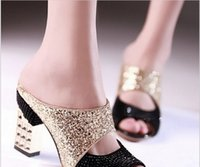 Wholesale quality high heel sandals platform women sexy fashion lady female shoes hot sale EUR size