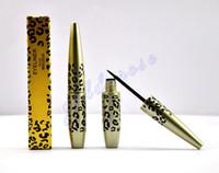 Leopard maquillaje CALIENTE Eyeliner Liquide Impermeable Negro 6ML (300 PC / porción) + REGALO GRATIS