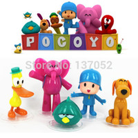 Wholesale Hot sale set Cartoon Pocoyo Zinkia Toys Dolls PVC Action Figures Child Toys