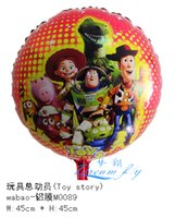 Wholesale Hot sell a inch toy story cartoon party decoration balloon children toy balloon