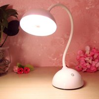 Wholesale New Portable and New Design Flexible ABS PS USB Headphone Headset Shape LED Table Desk Lamp Light Touch Sensor Control Bright