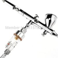 airbrush hose fittings - 1 Airbrush Mini Air Filter Moisture Water Trap Fittings Hose Paint Spray Gun