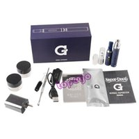 Cheap Snoop Dogg Dry Herb Starter Kit E Cigarettes Vaporizer kits snoop dog 650mah Blue Atomizer micro GPen with for Dry Herb wax via DHL topego