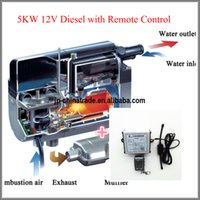 Wholesale Belief Liqiud parking heater KW V Diesel with Remote Controller Similar For Boat Bus Truck Caravan Motor