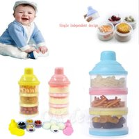 baby milk powder container - 1 Portable Baby Infant Feeding Milk Powder Food Bottle Container Cells Grid Box