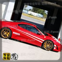 Wholesale Ferrari car stickers pull flower color of the vehicle speed and dynamic stickers car stickers Genesis Coupe FT86