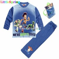 toy story clothing - Original Kids Sets Great Pacakge Toy story kids pajamas children sleepwear Pyjamas cartoon night suit clothes set