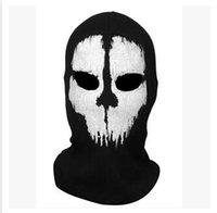 Wholesale Call Of Duty Hat Hood Cap Men Hood Cap Call Of Duty Same Design Mask Of Duty U01