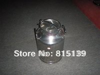Wholesale 40L Stainless steel milk can Transport milk can