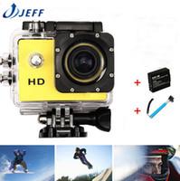 helmet camera - DVR Mini Camcorders Gopro Hero HD SJ4000 Video Sport Go Pro Camera Extreme Sport Helmet Action Diving Camera Battery Monopod