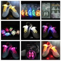 Wholesale 2014 hot sale rd Generation Platube Laces Olive LED light up Flashing Flash Shoelaces Shoelace Shoe laces FAST SHIPPING piece pair