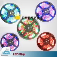 Wholesale LED Strip Light IP65 waterproof LED Flexible Light Strip LED Color Options SMD Feet Meter led strip lights DHL Free shippin