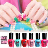 Wholesale 53 colors options BGIRL Aqueous non toxic water based peelable nail tearing children or pregnant women suitable tearing peelable nail polish