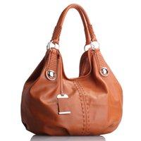 real leather designer handbags - purses Lady Designer Massanger Bag High Quality Famous Brand Women Real Leather Handbag Brown Women Bolsas