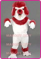 Mascot Costumes adult poodle - POODE Poodle Mascot Costume Adult Size Carnival Cosply Fursuit Mascotte Fancy Dress SW1281