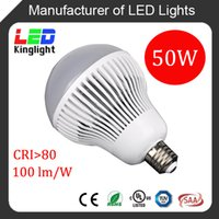 Wholesale 50W LED High Power Bulb E40 Base AC100 V Replacement W CFL in High Bay Fixture Used in Warehouse Shop CE RoHS UL approved