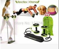 Wholesale Revoflex Xtreme Fitness Xtreme Resistance Exerciser double wheeled fitness slimming gym sport equipment