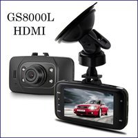 Breathable video camera hdmi - GS8000L HD1080P TFT LCD Screen quot Car DVR Vehicle Camera Video Recorder Dash Cam G sensor HDMI Car Camera Night Version