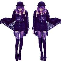handmade product - 2016 fashion sexy double rivets leg loops leg Harajuku Gothic corset with rivets female nightclub handmade products AX1067