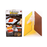 Wholesale 2015 NEW HD Vision Visor Day Night Visor Easy View Day Night Vision Flip Down Visor Easy Sun Glare Block View