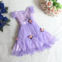 Cheap 2015 hot sales!Korean children's clothing girls dress princess sequined veil new summer flowers girl dress