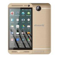 Cuerpo metálico HDC A5 1: 1 Quad Core MTK6582 1.3GHz 1GB / 8GB Android 4.4.4 KitKat 5.0 pulgadas 1280 * 720 HD pantalla 3G WCDMA 8.0 megapíxeles Cámara Móvil