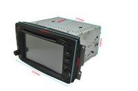 AS-8827 para la navegación 2din 7 del coche DVD de Wince6.0 de la clase W de C del BENZ C