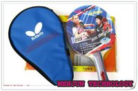 Wholesale double inverted rubber table tennis bats high quality table tennis rackets order lt no track