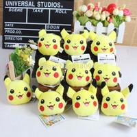 Wholesale Anime Cartoon Pokemon Pikachu Plush Toy Doll with Ring Soft Stuffed Doll ANPT267