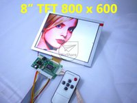 Wholesale hot sell VGA AV Revering Driver Board inch LCD Panel EJ080NA B AT080TN52