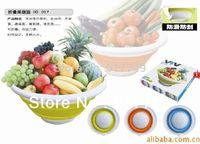 Wholesale High quality Folding Furit Basket Multi purpose Fruit Basket Environmental Protect Space saving order lt no track