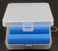 battey pack - Battery Case Box Holder Storage Container pack protected batteries for18650 battey li ion battery mechanical mod ecig DHL