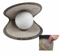 best dry cleaning - Best Seller Brand New Ballzee Pocker Golf Ball Cleaner Terry Lined Plastic Wet Inside Dry in Pocket Grey