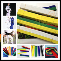 Wholesale free ship M martial arts belt Karate Taekwondo Judo Jiujitsu tae kwon do belt Karate Taekwondo tape