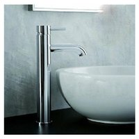 sinks stainless steel - hot sale new fashion Durable Single Handle Tempere Waterfall Bathroom Basin Tap Vessel Sink Faucet PTSP