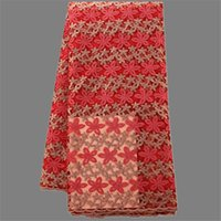 african cloth designs - Popular embroidery design French net lace fabric for ladies dress nice African tulle mesh cloth YN12 multi color