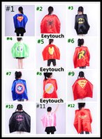 capes - Superhero Kids Superman Cape Superhero Capes Superman Batman Spiderman Flash Supergirl Batgirl Robin kids cape