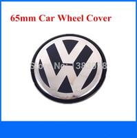 Wholesale DHL SHIPPING alloy mm VW Wheel Center Cover Hub Cap D car badges emblem EOS Golf Jetta Mk5 Passat B6 VW B7 ldx