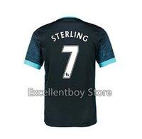 manchester - Hot sell Home Soccer Jersey City SILVA Sergio Aguero YAYA TOURE NASRI Raheem Sterling Manchester