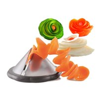 Wholesale 2015 Creative kitchen gadgets vegetable spiralizer slicer tool kitchen accessories cooking tools accesorios de cocina JIA469