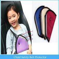 child harness - Car Child Safety Cover Shoulder Harness Strap Adjuster Kids Seat Belt Clip Child Resistant Safety Belt Protect C47