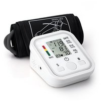 Wholesale Arm Blood Pressure Pulse Monitor Health care Monitors Digital Upper Portable Blood Pressure Monitor meters sphygmomanometer