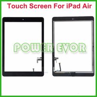 Wholesale Original Digitizer Assembly For iPad Touch Panel Outer Glass Replacement Touch Screen by DHL