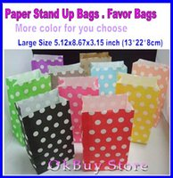bags for candy bar - Larger Kraft Paper Bags PICK your Color s Christmas Favor Bags for New Year Candy Bars Kids Birthday Paper Lolly Loot Bags