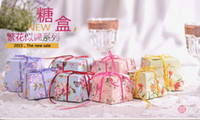 Wholesale 2015 Colorful Cheap Wedding Candy Boxes Papery Middle Style Pecs Special Wedding Party Favors For Wedding Gust Gifts