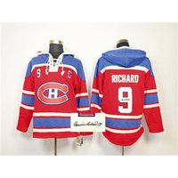 autograph signings - Red Maurice Richard Hockey Hoodies Canadiens Autographed Pullover Sweatshirts Mens Hockey Wears Sign Player s Name New Collection Hoody